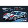 MENG MODEL: 1/12 Ford GT40 Mk.II '66 (Pre-colored Edition)